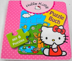 Puzzlebuch Hello Kitty