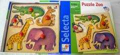 Puzzle Zoo aus Holz