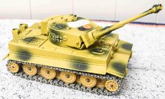 Panzer Char Tigre beige/grün von Solido