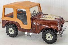Jeep braun von Corgi Toys