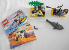 Lego System Piratenhütte und Floss Nr. 6232+6234