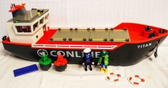 Grosser Frachtschiff Conlines Nr. 4472