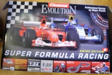 Auto-Rennbahn Carrera Evolution. Super Formula Racing