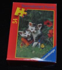 Mini Puzzle Katzenpaar