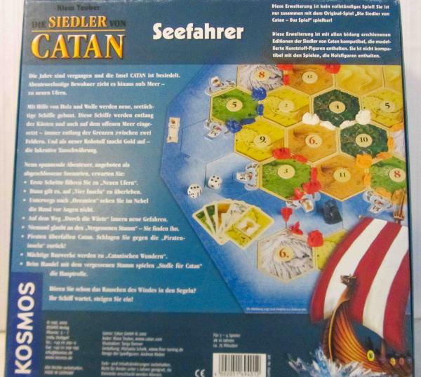 Siedler Von Catan Seefahrer Anleitung