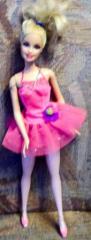 Barbie Ballerina mit pinkem Kleid