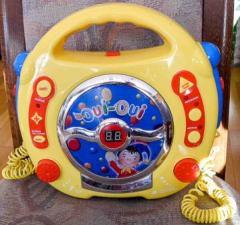 CD Player gelb Oui Oui