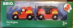 Feuerwehr mit Anhänger Nr. 33576 - NEU