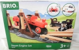 Brio Steam Engine Set Fracht-Set Nr. 33030 - NEU