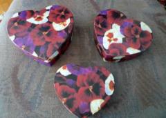 3 Herz-Schachteli