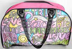 Tasche farbig und pink von Simba