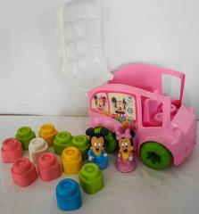 Disney Baby School Bus rosa Micky Maus und Minnie Maus