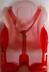 Baby Born Fahrradsitz/Autositz pink/rosa