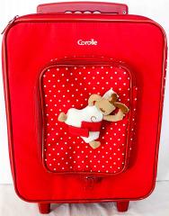 Koffer rot mit weissen Punkten von Corolle