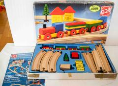 Holz-Eisenbahn Nr. 4700 von Heros