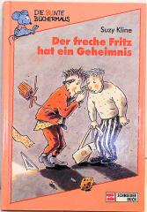 Die bunte Büchermaus: Der freche Fritz hat ein Geheimnis
