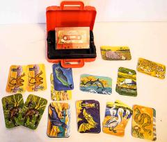 Bogi Kartenspiel mit Wildtiergeräuschen auf Kassette
