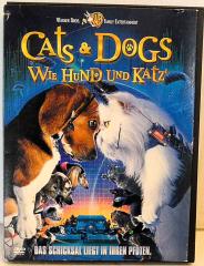 Cats + Dogs. Wie Hund und Katz. Das Schicksal liegt in Ihren Pfoten