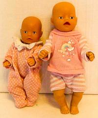 2 kleine Baby Born Puppen
