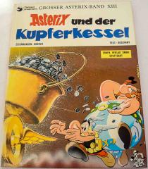 Asterix und der Kupferkessel Band XIII