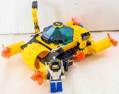 Lego Crystal crawler