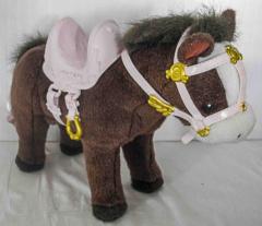 Baby Born Pferd braun