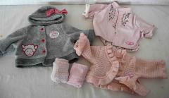 Baby Annabelle Kleider Set Grösse 43-46 cm