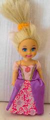 Barbie Kind mit lila Kleid