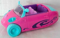 Auto pink/hellblau