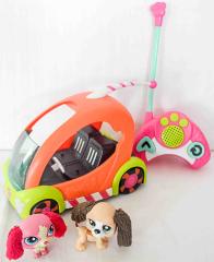 Littlest Pet Shop Speedy-Tails mit Fernbedienung und 2 Figuren