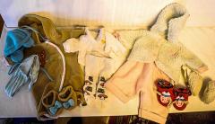 Kleider-Set Garnitur 2 Grösse 43-45 cm von Baby Lou