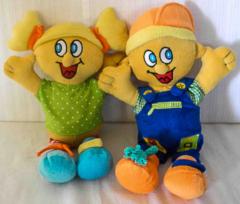 Baby Puppen 1 Knabe und 1 Mädchen