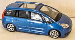 Auto Citroen C4 Picasso blau