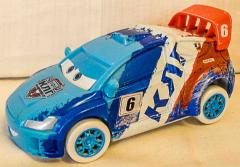 Auto Kat blau