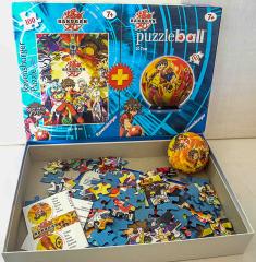 Bakugan mit Puzzle Ball