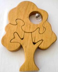 Holzpuzzle Baum