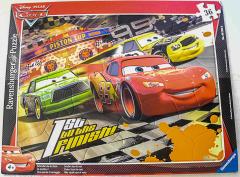 Rahmenpuzzle Cars Schneller als der Rest