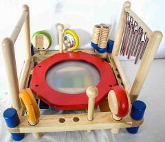 Kindermusikzentrum aus Holz
