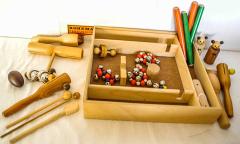 Rohema Percussion-Set/Rhytmus-Instrumente aus Holz