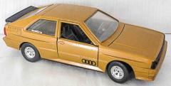 Audi Quattro braun