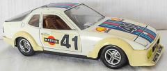 Porsche 924 Martini Racing beige Streifen