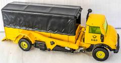 Lastwagen DBP gelb