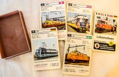 Quartett Lokomotiven