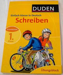 Duden einfach Klasse im Deutsch. Schreiben 1. Klasse