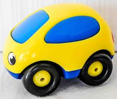 Auto gelb/blau von Smoby