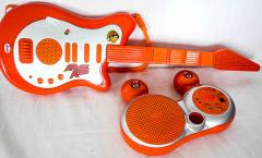 E-Gitarre orange