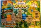 Knet-Sand. Crazy Magic Sand. Dschungel-Box - NEU