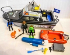 Polizei-Boot grau Nr. 4429