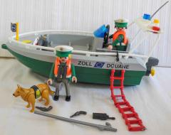 Zoll-Boot grün/grau Nr. 4471