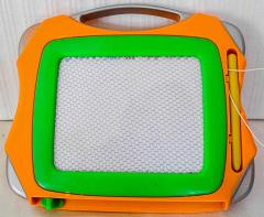 Schreibtafel klein orange/grün